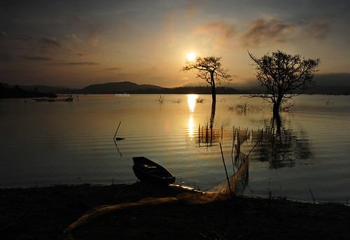 Sáng trên hồ