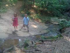 Kids at the creek