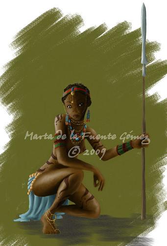 princesa tribu