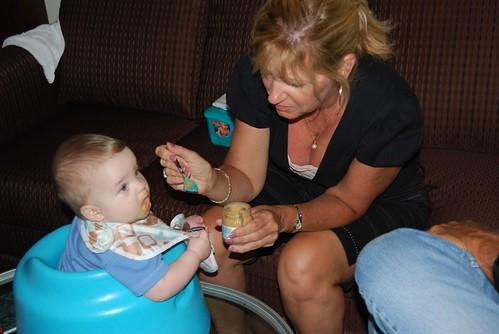 Alex with Auntie Sharon