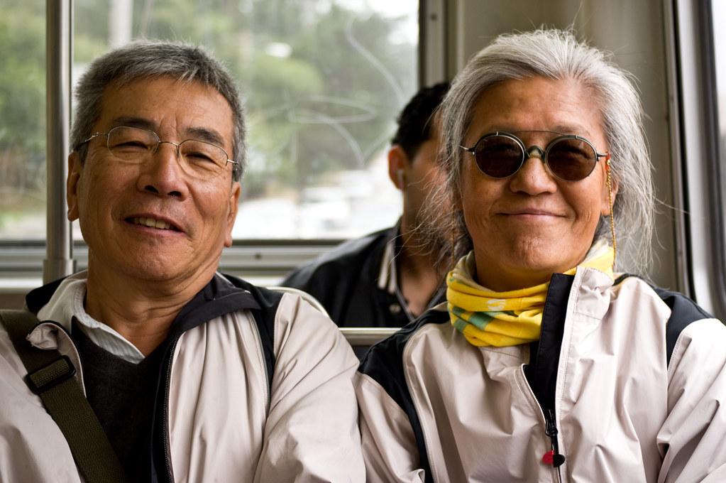 City tour with Wan's parents