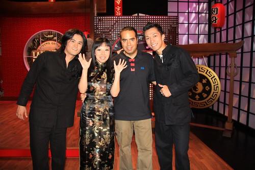 Zack, Yu, Nacho y Juan