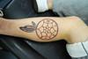 dreamcatcher tattooed by johnny