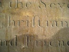 Christian ligature