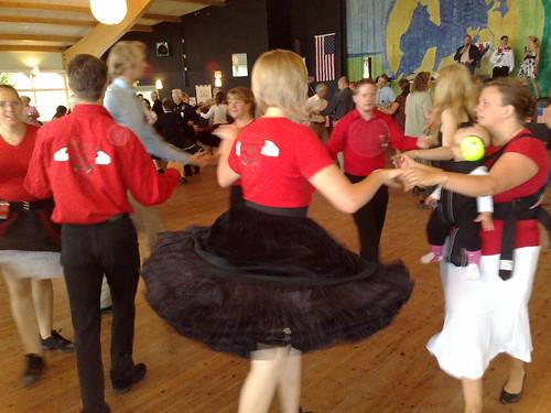 Square Dance in Mariestad Sweden #3