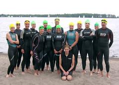 Toronto Triathlon Club open-water swim clinic