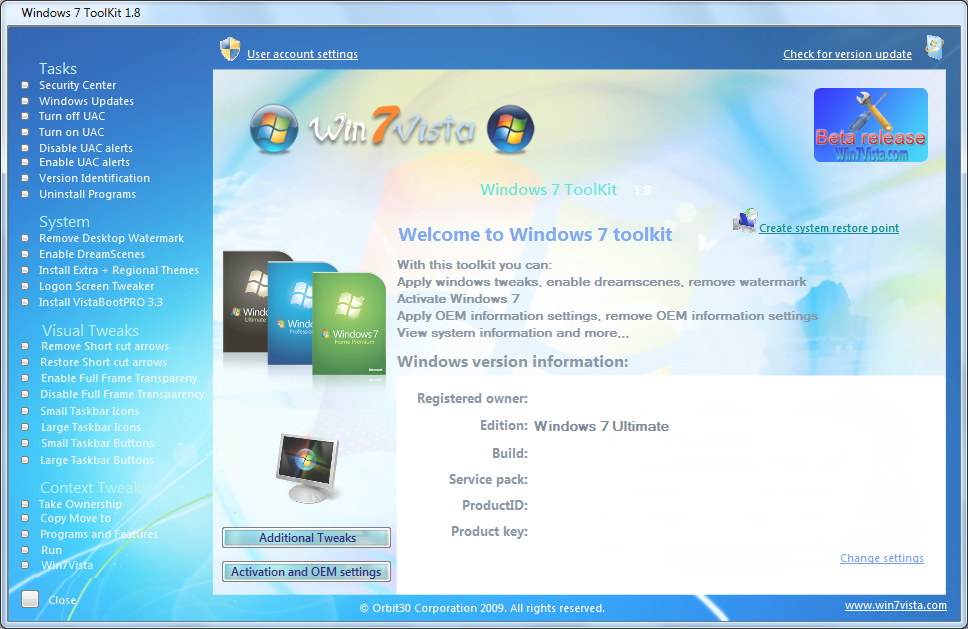 Feelings - Windows 7激活器 - qings - qings的博客