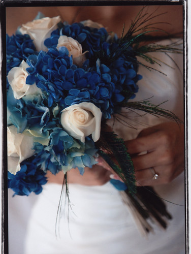 My Blue Bouquet