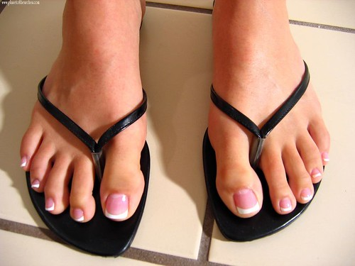 French Polish Pedicure Help With French Pedicure Top