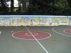 Dickerman Park mural