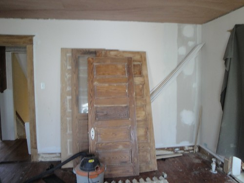 During - Doors - Stripped, Sandend and Ready to Paint