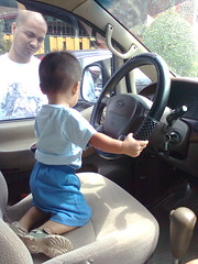 Our Little Driver.