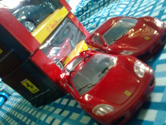 Ferrari cars.