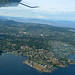 Aerial view of Gonzales, Victoria, BC