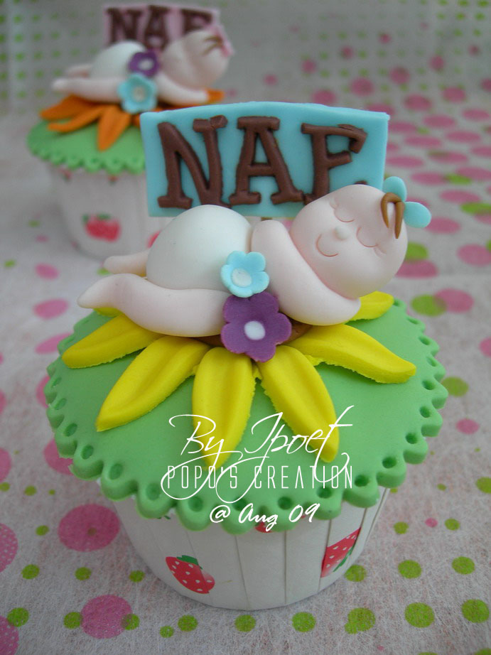 Baby Girl Cupcake for NAE