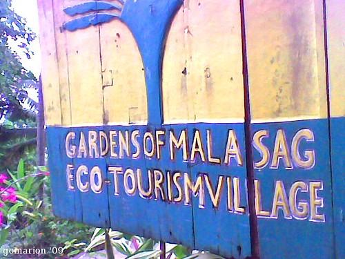 Gardens of Malasag Entrance Sign