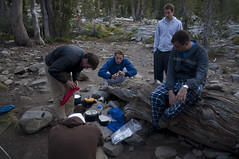 Making dinner (Emerald Bay, California, United States) Photo