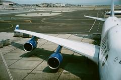 22320008 (phototooker) Tags: film zeiss 50mm airport fuji superia engine 15 rangefinder aeroplane contax 400 fujifilm 50 rf iiia f15 xtra sonnar