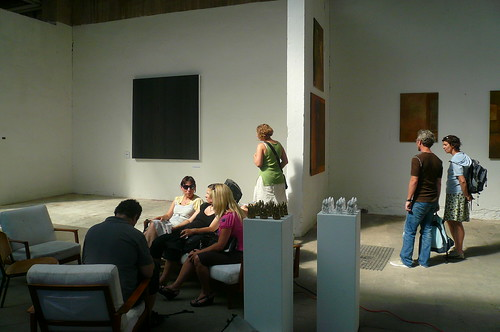 Abschlußausstellung Sommer Ateliers bei Familie Montez. August 2009 -- lola-sommer-atelier-abschluss-1090145
