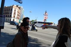 suchin pak in the streets of barcelona (nicolas.boullosa) Tags: barcelona clotheslines urbangarden composting localfood suchinpak kirstendirksen faircompanies