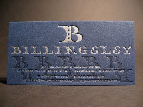 Billingsley Business Card