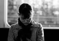 japanese lady #3 (manuel cristaldi) Tags: leica travel people blackandwhite bw film japan lady scarf 35mm subway asian japanese blackwhite women noiretblanc metro trix osaka kansai lesdeuxmagots  mostexcellent schwarzweis favorites30 views400 libertango bwphotoaward artandphotography manuelcristaldi portraitaward feltlife asiangirlnextdoor thebestgallery myverypersonalbw bwpassion forceofphotography artisawoman