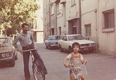 دوچرخه سواری با دائی درکوچه های کودکی (Nahidyoussefi) Tags: iran persia tehran ایران دوچرخه تهران pejman پژمان کودکی پروندی