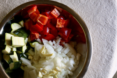 Summer Vegetable Farro Salad