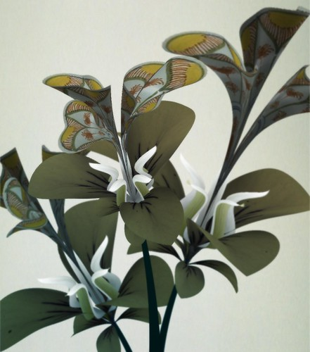 Prototypes from the Flowers series, 2009