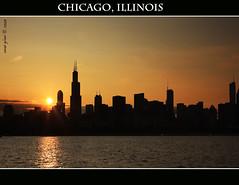 Chicago, Illinois (iCamPix.Net) Tags: sunset chicago canon landscape illinois 1975 professionalphotographer downtownchicago cookcounty chicagosunset markiii1ds