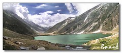 Saifulmalook Lake - Panorama