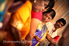 Just before (visithra) Tags: travel wedding dinner photography photographer indian ceremony marriage malaysia kualalumpur weddings hindu malaysian 2009 imagery kalyanam visithra veyez