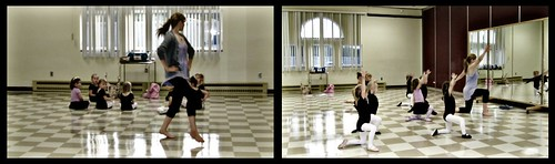 Premier cours de danse