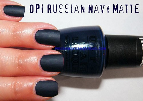 OPI Russian Navy Matte