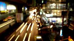 Bokeh light trails abstract (songglod) Tags: abstract thailand lumix bokeh bangkok experiment panasonic lighttrails trial lx2