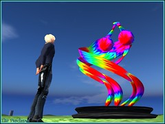 Wanna dance free-spirited (Tim Deschanel) Tags: life new sculpture art tim trails exhibition sl exposition second yeti paysage bing deschanel yoa ogee