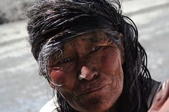 face (ahaswerus) Tags: china old woman face tibet