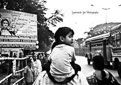 When I look back (swarnendu) Tags: people india heritage festival canon photography rebel ancient kolkata puja sen durga xsi bengali saptami swarnendu