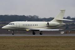 I-NATS - Sirio - Dassault Falcon 2000EX - Luton - 090218 - Steven Gray - IMG_9432