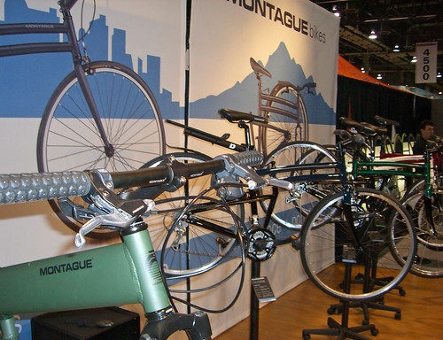 Montague Bikes booth at Interbike 2009!