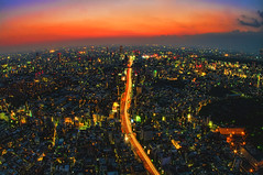 Tokyo Dusk (/\ltus) Tags: japan tokyo raw pentax dusk shibuya moribuilding hdr k7 1xp tripodmounted stuckincustoms japanhdr