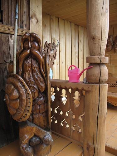 Olkhon Island Woodwork