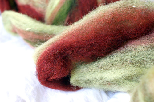 Rhinebeck Fiber: Triple R Farm wool roving