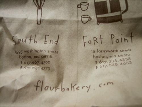 Flour Bakery, Boston