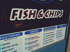 One of those well-known Fish'n'Chips/Japanese crossover restaurants