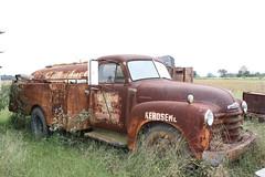 Kerosene Hauler (dbro1206) Tags: chevrolet abandoned rusty arkansas truck chevy rust weathered old resting kerosene forgotten canon