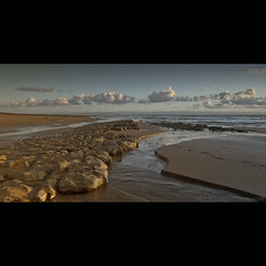 Beachscape (Scott Howse) Tags: sky cloud beach water wales sand rocks lee filters 09h