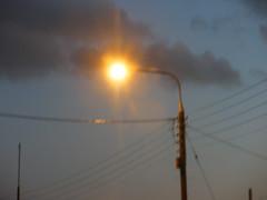 A street light in Bray