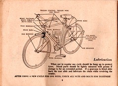 Raleigh care of your cycle handbook (Mark Gell) Tags: raleigh cycle brakes rod care handbook roadster cottered dynohub