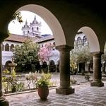 Quito: Claustro del Convento Mercedario de El Tejar, S. XVIII.